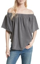 Free People Women's New Kiss Me Off The Shoulder Tee