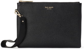 Kate Spade Small Margaux Leather Wristlet