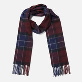 Barbour Women's Tartan Scarf - Damson/Navy