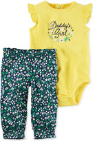 Carter's 2-Pc. Daddy's Girl Bodysuit & Pants Set, Baby Girls (0-24 months)