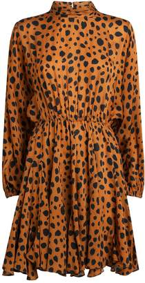 Rhode Resort Caroline Cheetah Print Dress