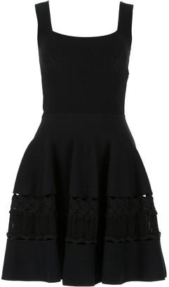 Alexander McQueen Lace Flared Dress