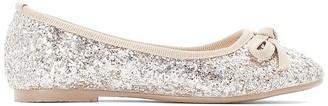 La Redoute Collections Sparkly Ballet Pumps
