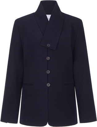 LE 17 SEPTEMBRE Le17 Septembre Collarless Wool Jacket