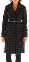 JCPenney Worthington® Belted Wool-Blend Coat