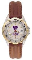 Kansas State Wildcats Women's All Star Watch Stainless Steel Bracelet