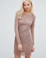 Vila Long Sleeve Body-Conscious Dress
