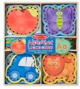 Melissa & Doug Toddler Alphabet Lacing Cards