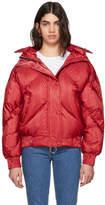 Ienki Ienki Red Dunlop Down Puffer Jacket