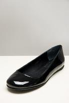 Gaby Patent Black Ballet Flats