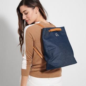 Bedford Convertible Backpack, Indigo Chambray