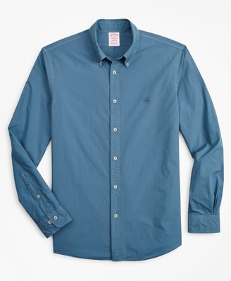 Brooks Brothers Madison Fit Garment-Dyed Sport Shirt