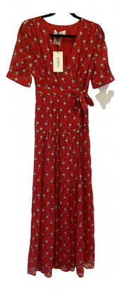 BA&SH Red Viscose Dresses