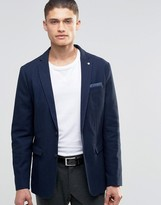 Selected Blazer in Texture with Stretch
