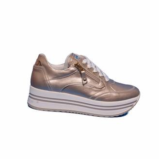 Nero Giardini Nerogiardini - Women's Leather Sneaker - Pink - 4