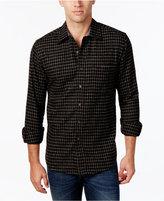 Club Room Men's Long-Sleeve Check Shirt, Only at Macy's