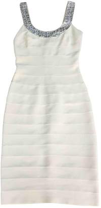 Carmen Marc Valvo White Dress for Women