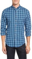 Gant Extra Trim Fit Tartan Plaid Twill Sport Shirt