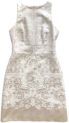 Hobbs Beige Cotton Dress for Women