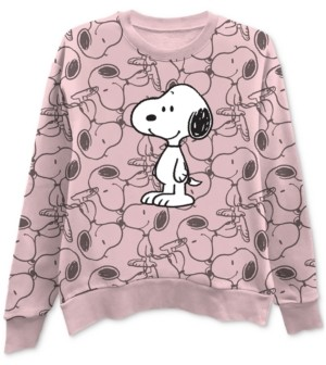 Freeze 24-7 Printed Snoopy Graphic Sweatshirt