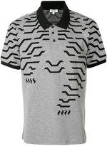 Kenzo printed polo shirt