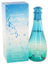 Davidoff Cool Water Summer Dive by Eau De Toilette Spray 3.4 oz