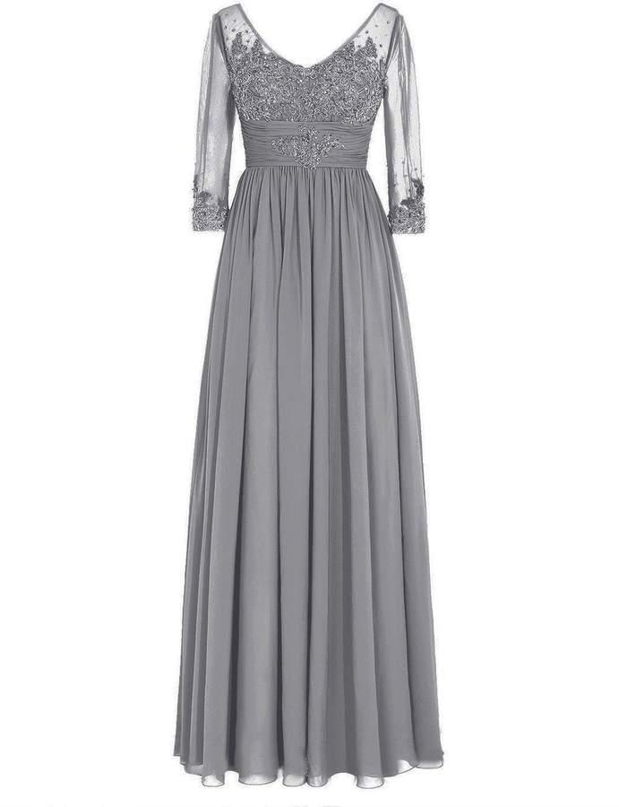 e2c2567c3e9b07 Grey Mother Of The Bride Dress - ShopStyle Canada