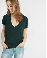 Express One Eleven V-neck London Tee