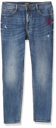 Desigual Women's Misses Denim Overall Trousers