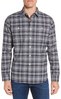 Grayers Harper Heritage Trim Fit Plaid Flannel Sport Shirt