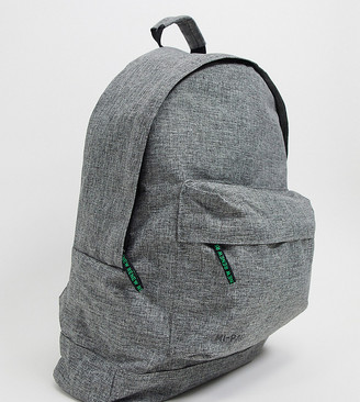 Mi-Pac Renew recycled materials classic backpack in grey