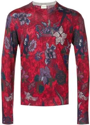Etro floral print sweater