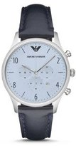 Emporio Armani Men's AR1889 Dress Blue Leather Watch