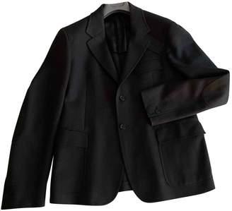 Prada \N Anthracite Wool Jackets