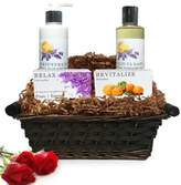 Pure Energy Apothecary Daily Delight Pure Aromatherapy Gift Set with Basket