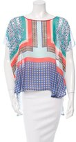 Clover Canyon Oversize Printed Blouse