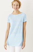 J. Jill Striped Knit Tunic