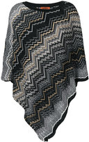M Missoni zigzag knit cape