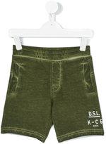 Diesel track shorts - kids - Cotton - 2 yrs