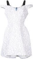 Natasha Zinko floral print structured dress - women - Cotton - 38