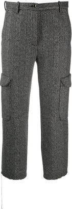Nine In The Morning Chevron Pattern Trousers