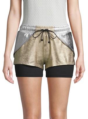 Koral Activewear Rallycross Metallic Shorts