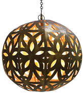 One Kings Lane Cut-Out Sphere Pendant - Gold