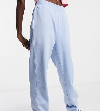 Reclaimed Vintage Inspired sweatpants in baby blue