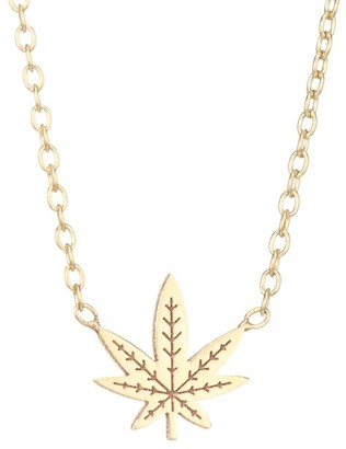 Zoë Chicco 14K Yellow Gold Mary Jane Pendant Necklace