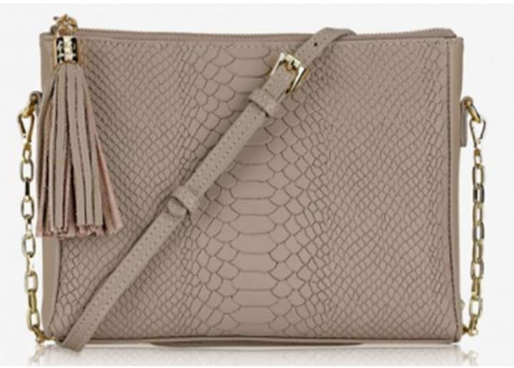 GiGi New York Hailey Python Crossbody