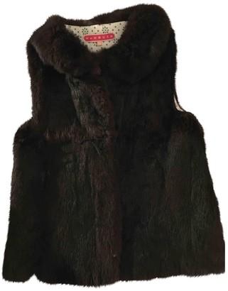 Manoush Brown Rabbit Jackets