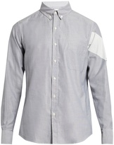 Moncler Gamme Bleu Button-cuff cotton shirt