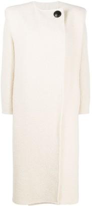 Isabel Marant Off-Centre Buttoned Coat
