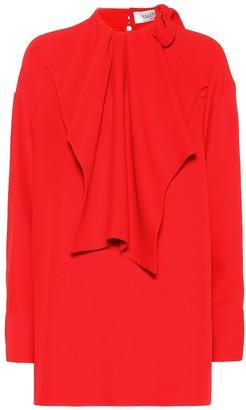 Valentino Silk crepe blouse